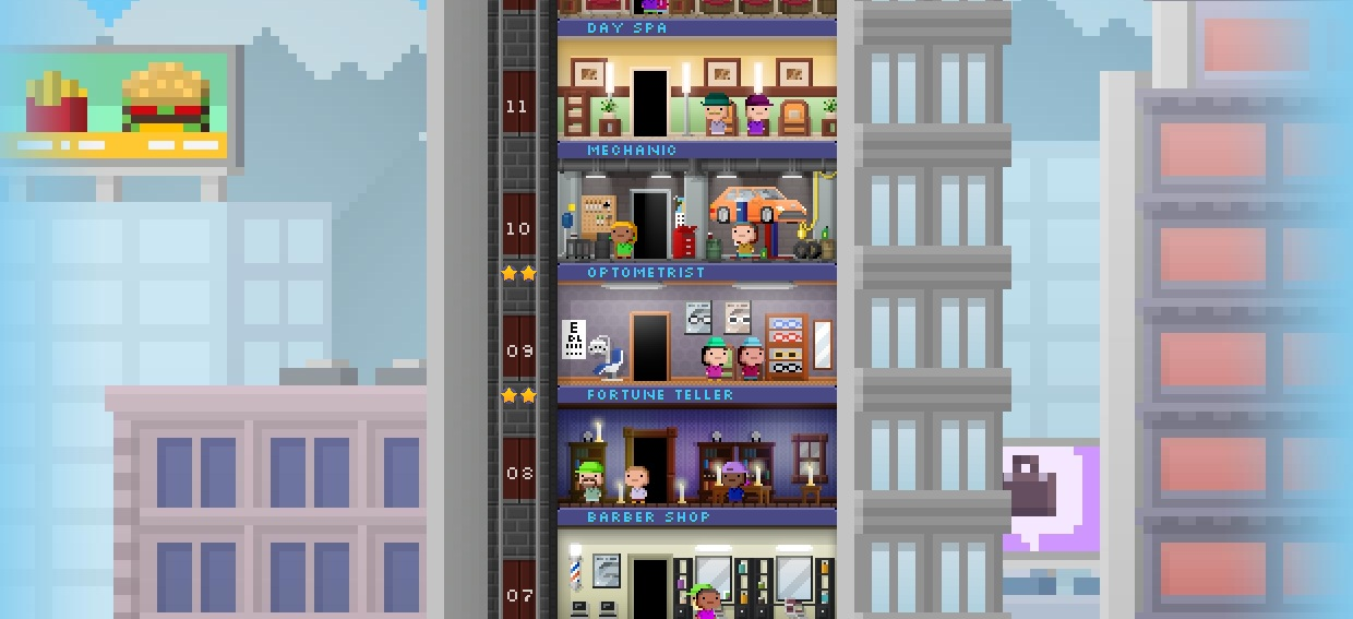 Tiny Tower – The Tower Sim That Sucks Your Life Away