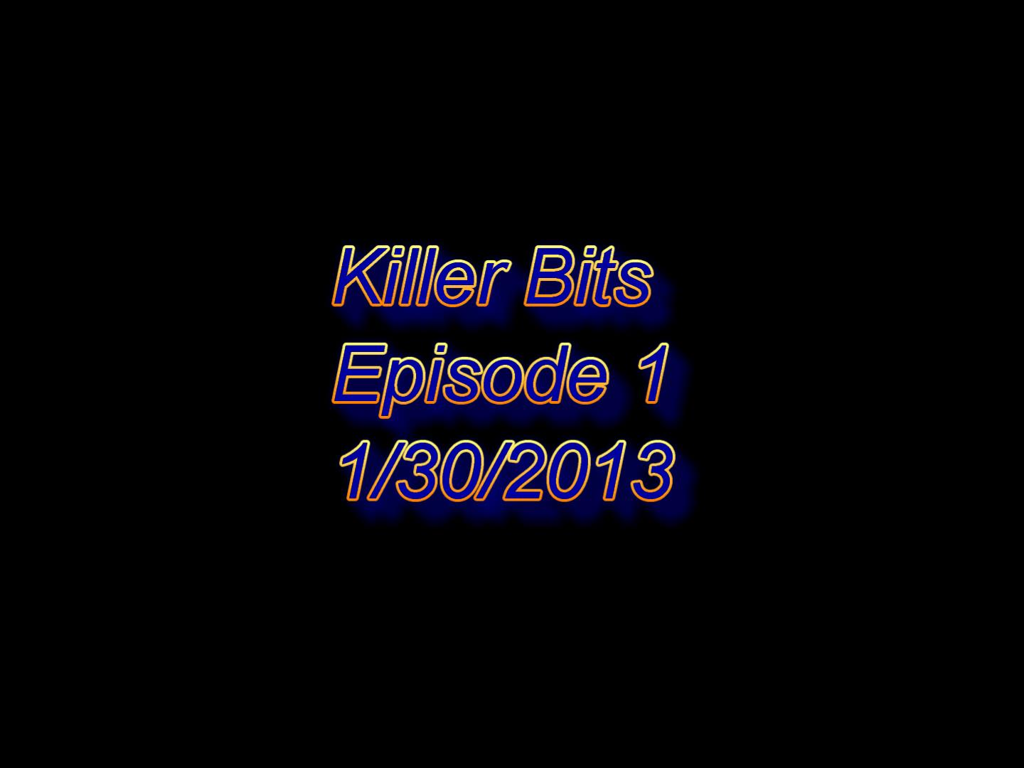 Killer Bits Launches on YouTube! Check Out the First Episode